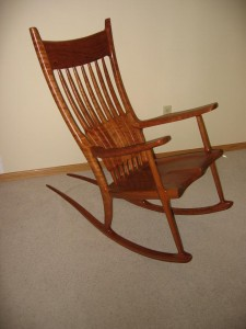Jim Pagel rocking chair